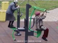 Mega babcie ćwiczą