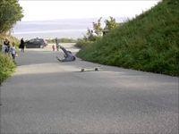 Wypadek na deskorolce