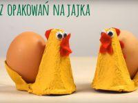 Kurki z opakowań na jajka